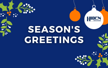Season's Greetings from Hiden Isochema